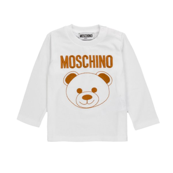 Moschino - TEDDY BEAR T-SHIRT FOR BABY BOY