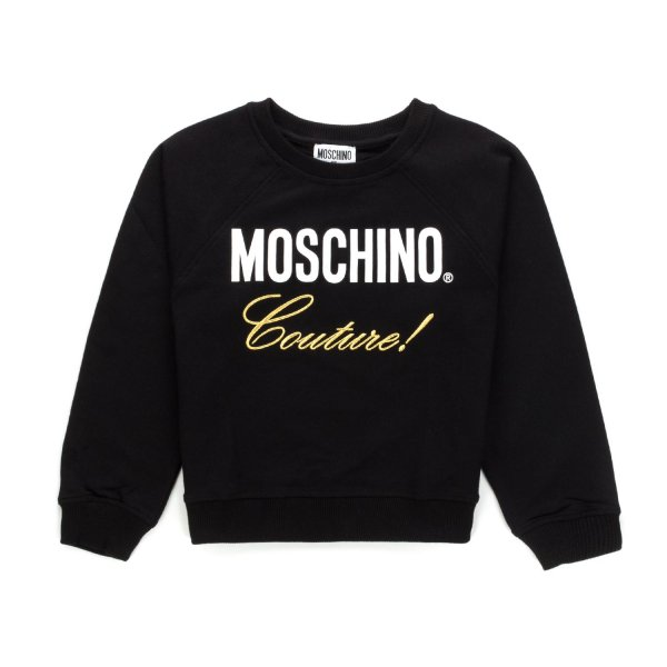 Moschino - Black Moschino Couture Sweatshirt