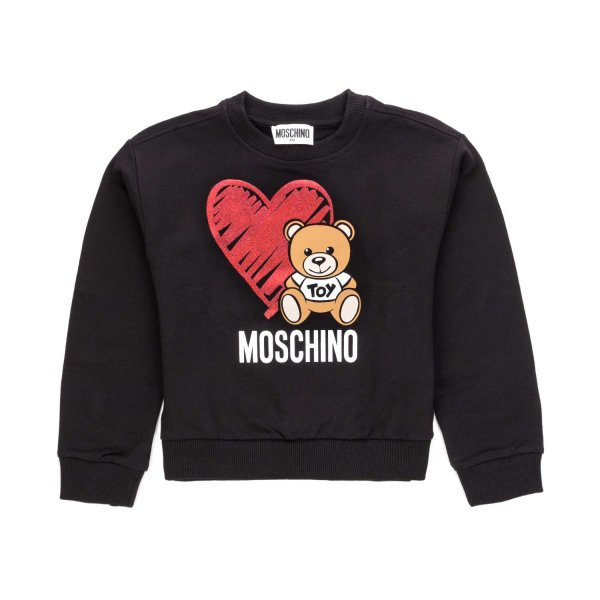Moschino - TEDDY BEAR SWEATSHIRT FOR GIRLS