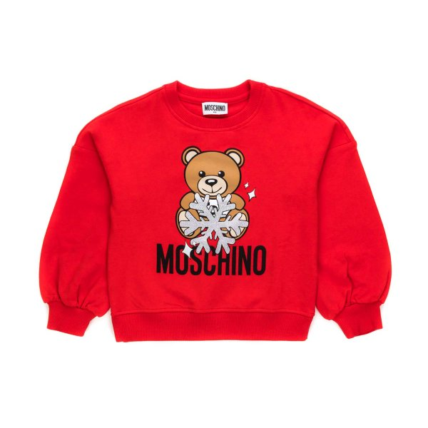 Moschino - LITTLE GIRL TEDDY BEAR SWEATSHIRT