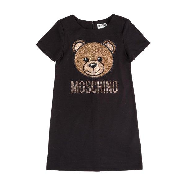 Moschino - DRESS WITH LOGO FOR GIRL