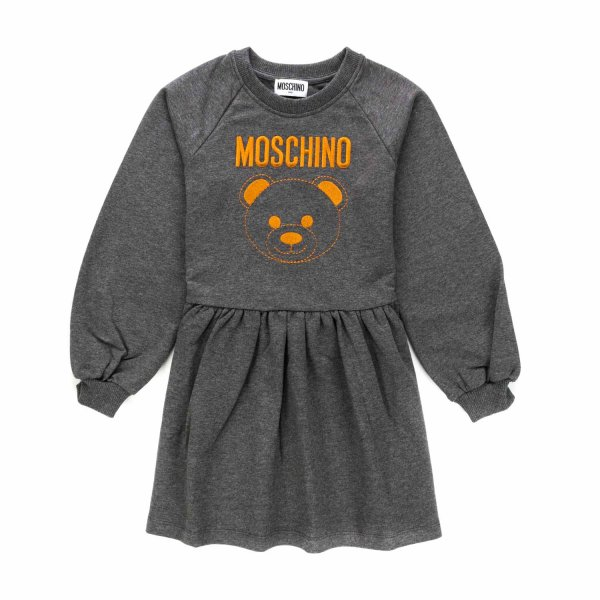 Moschino - COTTON DRESS FOR LITTLE GIRLS