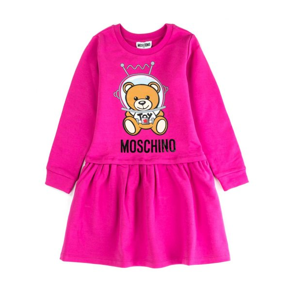 Moschino - LITTLE GIRL TEDDY BEAR DRESS