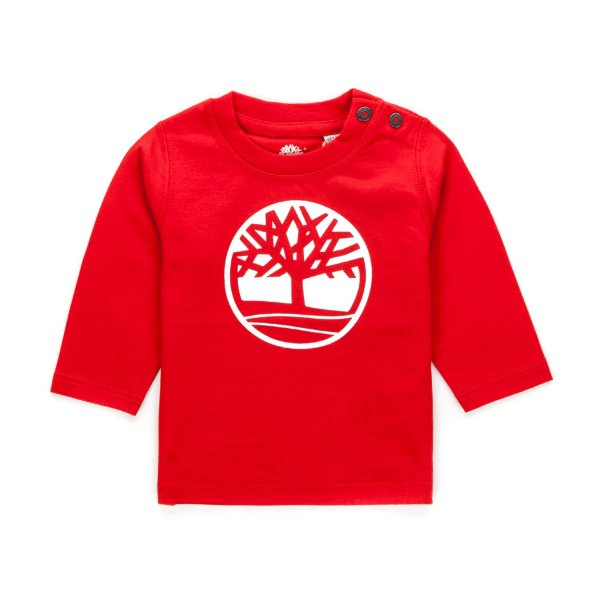 Timberland - BABY BOY RED LOGO T-SHIRT