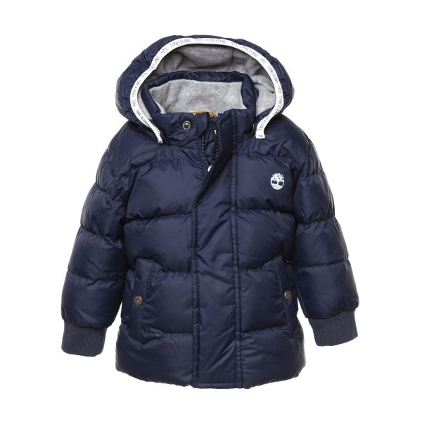 Timberland - BLUE DOWN JACKET FOR BABY BOY