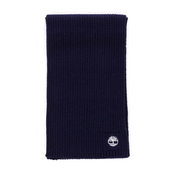 Timberland - BLUE LOGO SCARF FOR BOYS