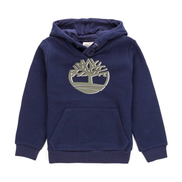 Timberland - BLUE HOODIE FOR BOYS TEEN
