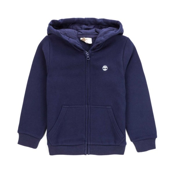 Timberland - BLUE ZIP HOODIE FOR BOY TEEN