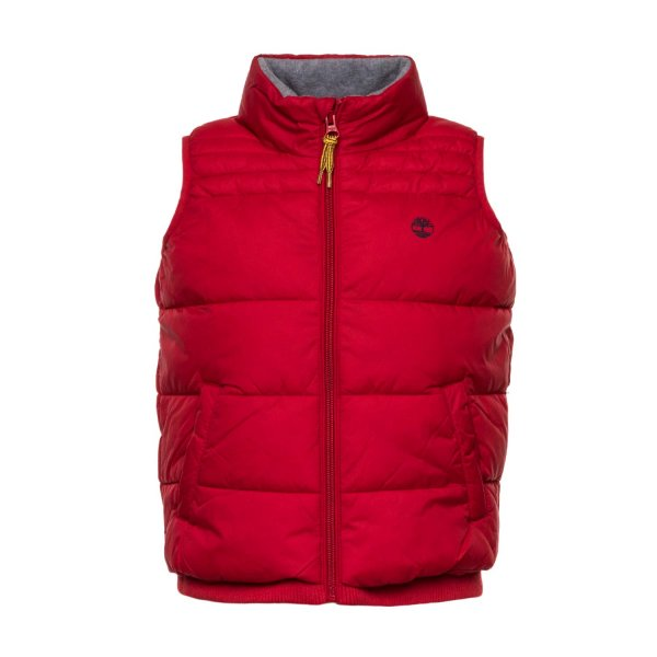 Timberland - RED BODY WARMER FOR BOY