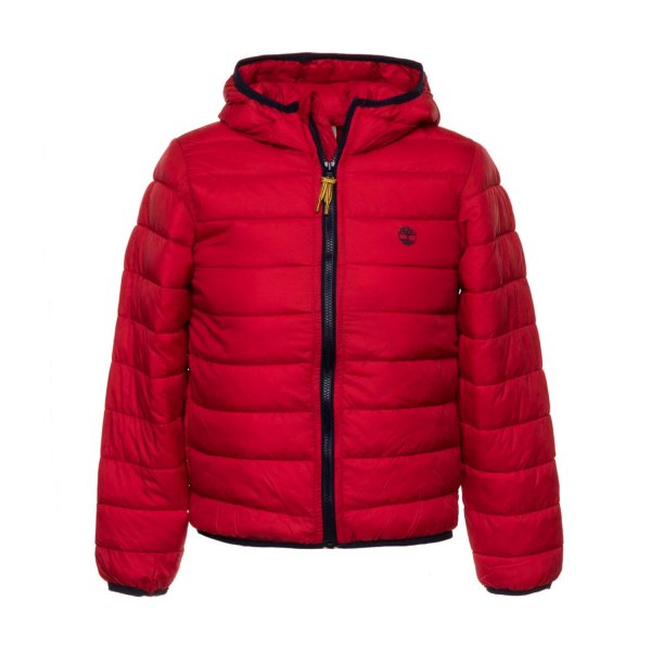 Timberland - BOYS RED DOWN JACKET