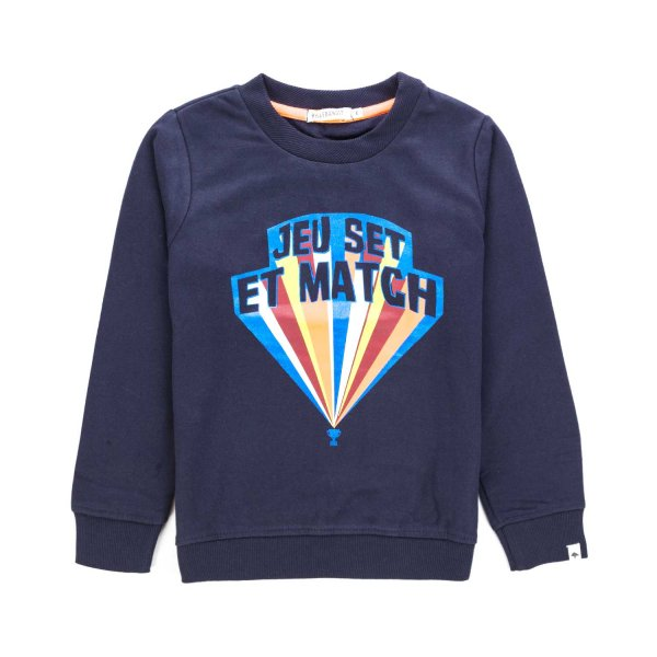 Billybandit - BOYS BLUE COTTON SWEATSHIRT