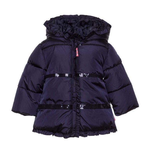 Billieblush - BABY GIRL BLUE DOWN JACKET