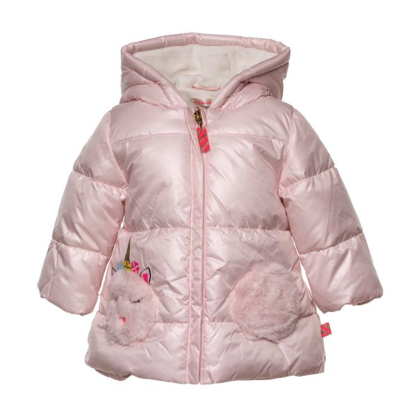Billieblush - BABY GIRL PINK DOWN COAT