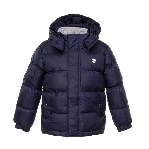 Timberland - BOY TEEN BLUE DOWN JACKET