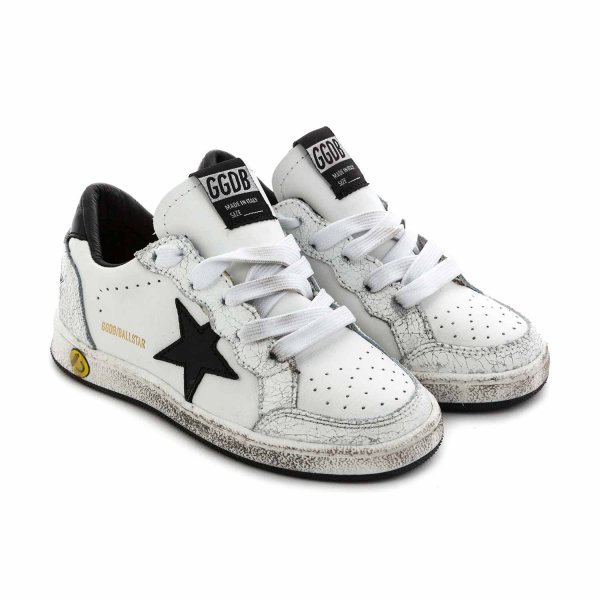 Golden Goose - LITTLE BOY BALLSTAR SNEAKERS