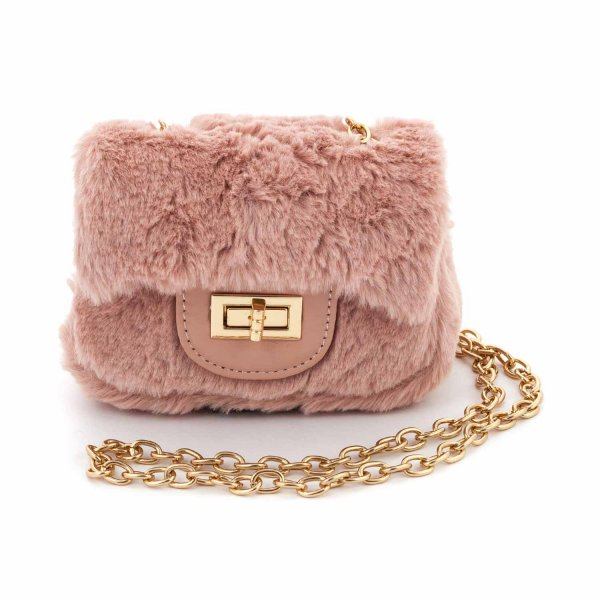 Monnalisa - FAUX FUR BAG FOR GIRL