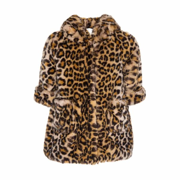 Monnalisa - ECO-FUR COAT FOR GIRL