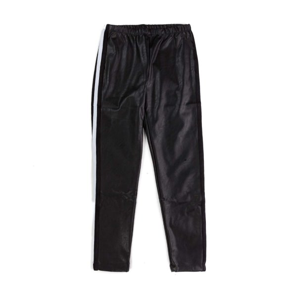 Monnalisa - GIRLS LEATHER LOOK TROUSERS