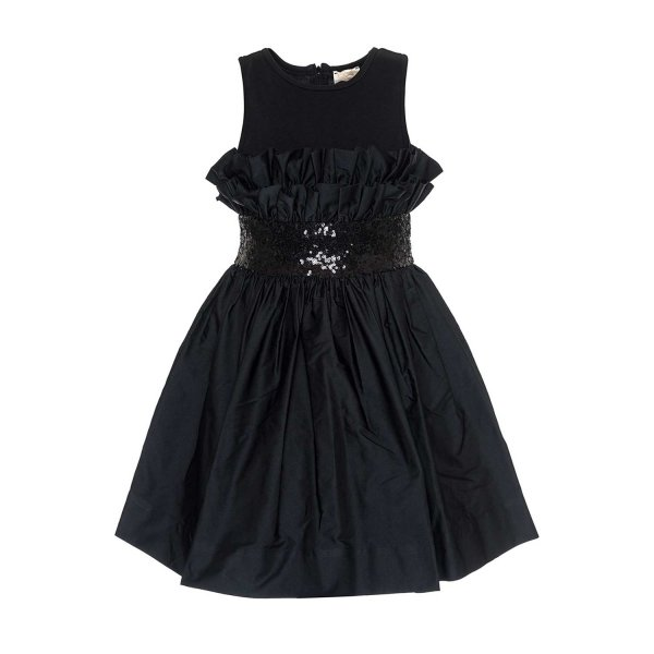 Monnalisa - GIRL ELEGANT BLACK DRESS