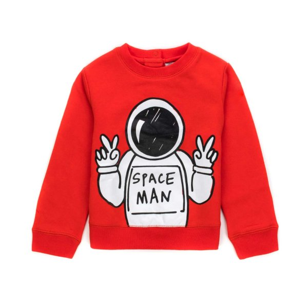 Stella Mccartney - BABY BOY COTTON SWEATSHIRT