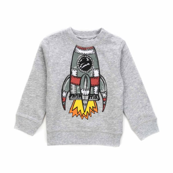Stella Mccartney - BABY BOY SHUTTLE SWEATSHIRT