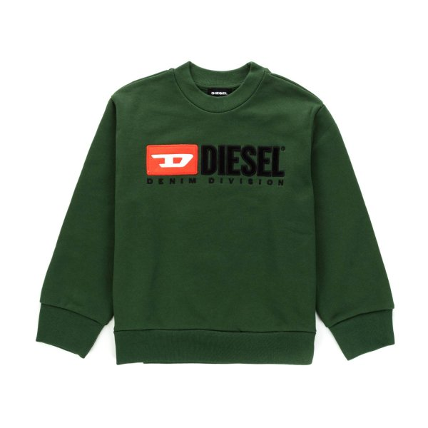 Diesel - GREEN SWEATSHIRT FOR BOYS