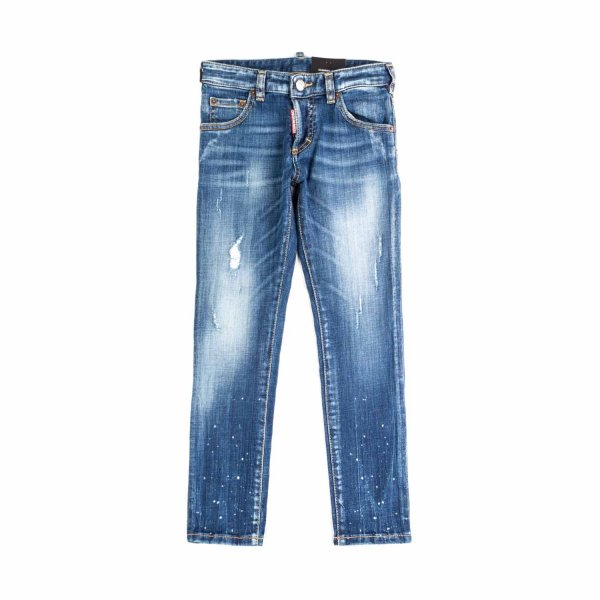 Dsquared2 - FADED JEANS FOR BOY