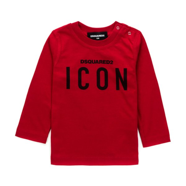 Dsquared2 - ICON PRINT T-SHIRT FOR BABY BOY