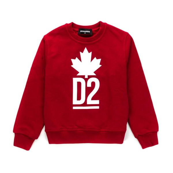 Dsquared2 - SWEATSHIRT WITH LOGO FOR BOYS