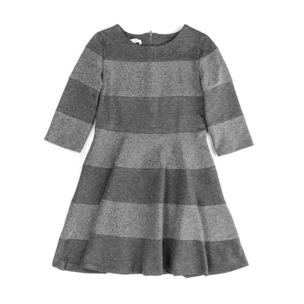Elsy - GREY DRESS FOR GIRLS