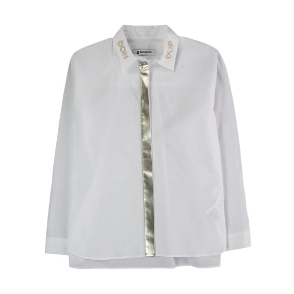 Dondup - WHITE SHIRT FOR GIRLS