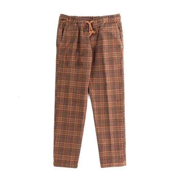 Nupkeet - CHECK TROUSERS FOR BOY