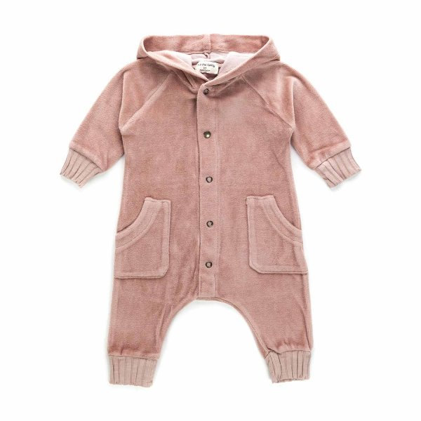 One More In The Family - BABY GIRL CHENILLE ROMPER