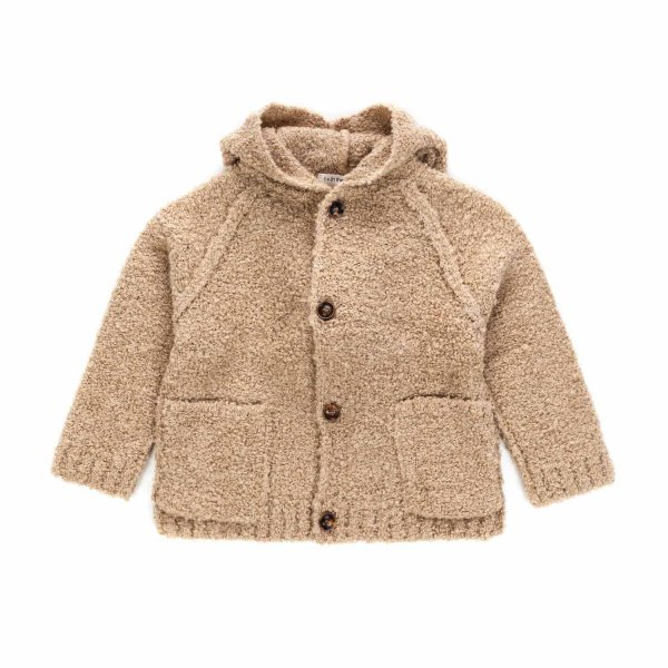 One More In The Family - CARDIGAN BEIGE UNISEX