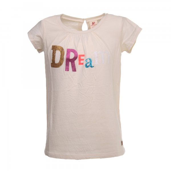 American Outfitters - T-SHIRT GIRL ROSA CON STAMPA GLITTER MULTICOLOR
