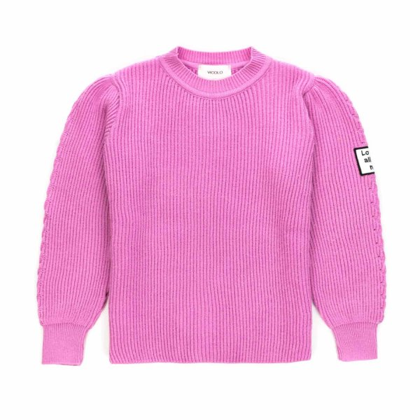 Vicolo - PINK SWEATER FOR GIRL