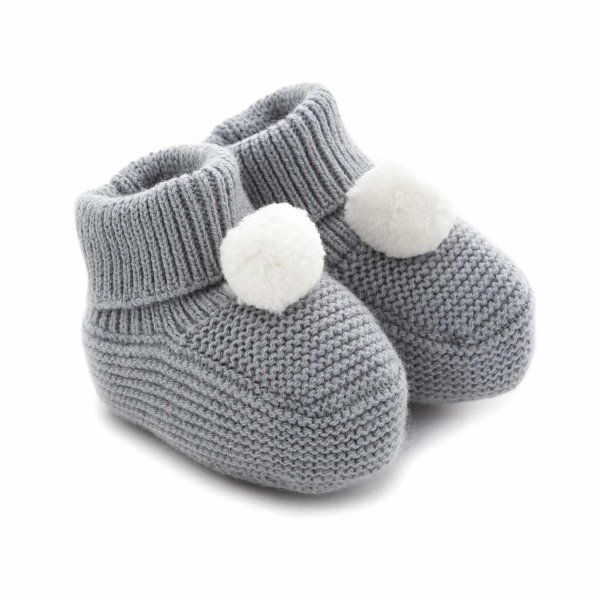 Tartine Et Chocolat - BABY BOY GREY BOOTIE