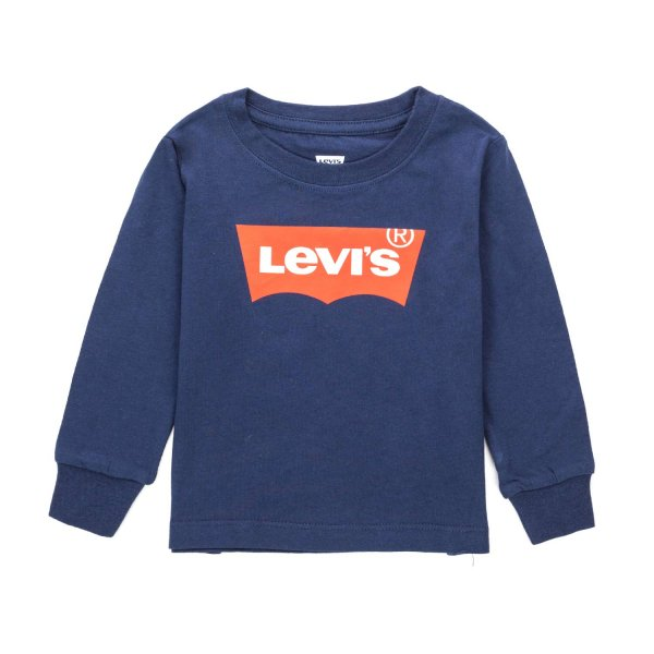 Levi's - BABY BOY BLUE T-SHIRT WITH LOGO