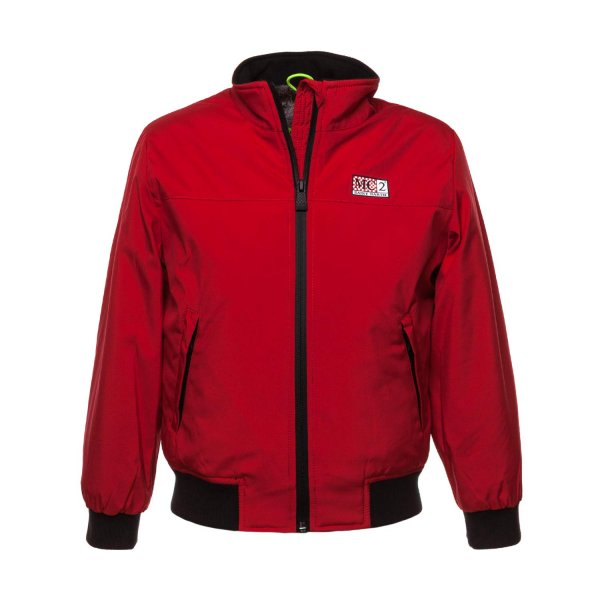 Mc2 Saint Barth - RED DOWN JACKET FOR BOYS