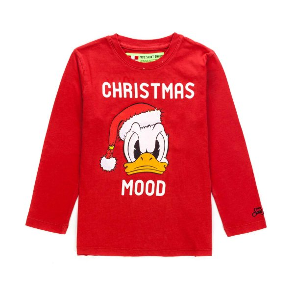 Mc2 Saint Barth - CHRISTMAS T-SHIRT FOR BOYS
