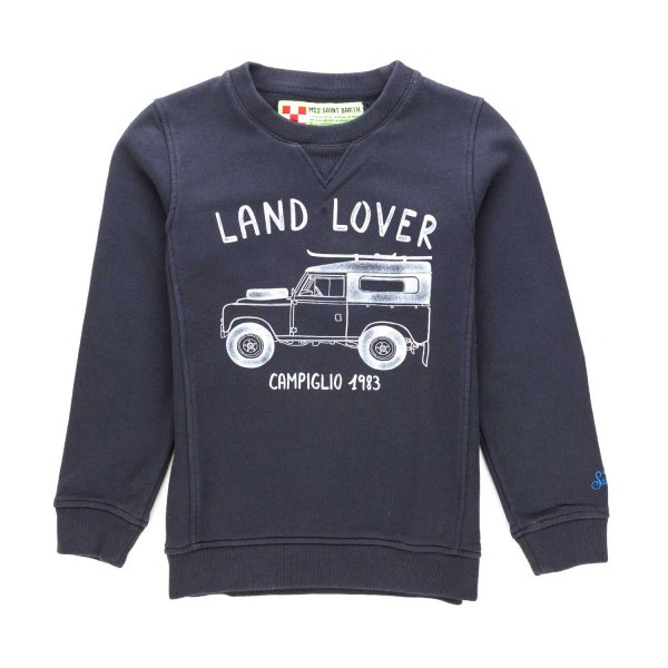 Mc2 Saint Barth - BOY PRINTED SWEATSHIRT