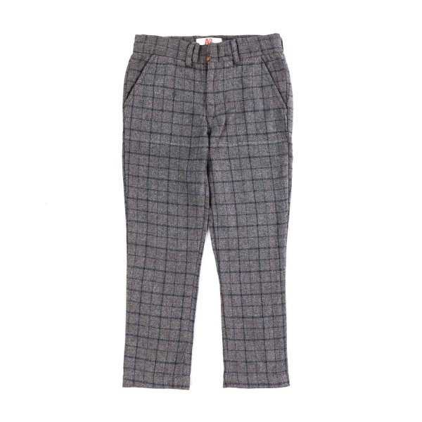 American Outfitters - BOY WOOL CHECK TROUSERS