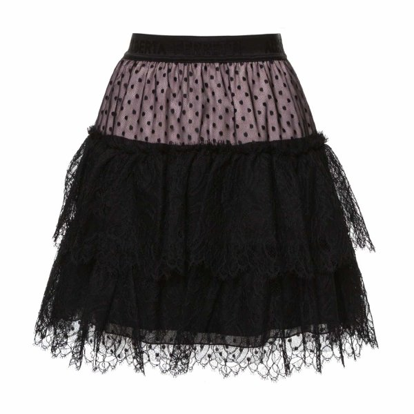 Alberta Ferretti - LACE SKIRT FOR GIRLS