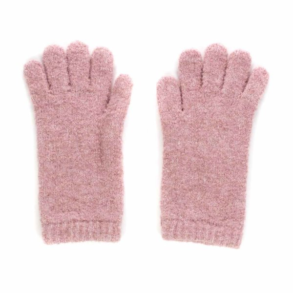 Douuod - LONG PINK GLOVES FOR GIRLS