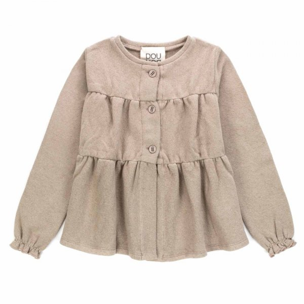 Douuod - BUTTON CLOSURE TOP FOR GIRLS