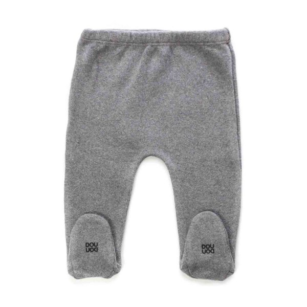 Douuod - GREY TROUSERS FOR BABY GIRLS