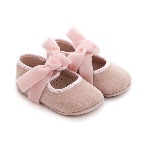 Tocotò Vintage - BABY GIRL PINK BALLERINA SHOES