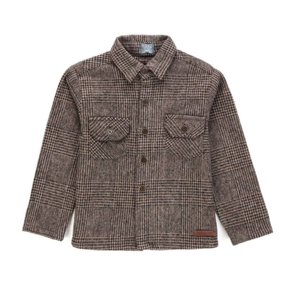 Tocotò Vintage - WOOL SHIRT FOR BOYS