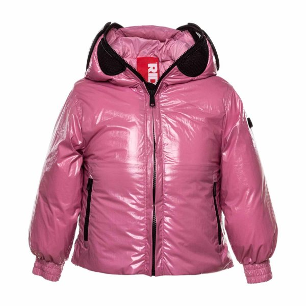 Ai Riders On The Storm - PINK DOWN JACKET FOR GIRL
