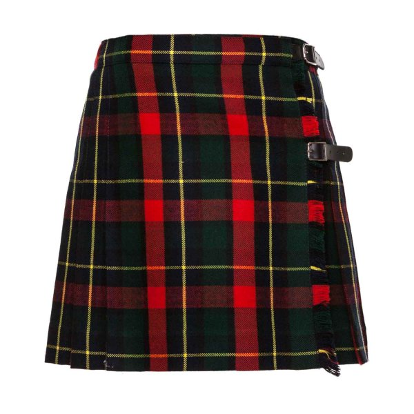 Paio Crippa - TARTAN SKIRT FOR GIRL